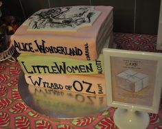 Book Themed Baby Shower...Great Idea
