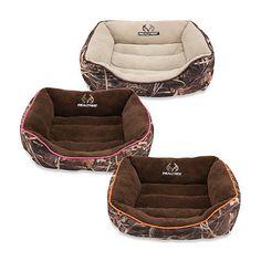 Realtree® Max4 Small Camo Box Pet Bed - BedBathandBeyond.com