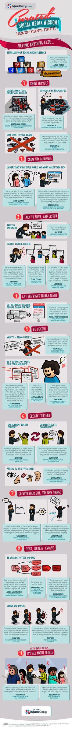 Social Media Wisdom | #Infographic #SocialMedia #SocialMediaMarketing #eCommerce #mCommerce #SocialMediaCommerce