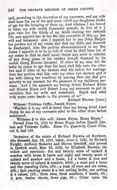 Estate of Richard Browne (p.2)