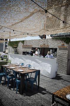 Cuarto Interior convierte la azotea del Círculo de Bellas Artes en la terraza de moda en Madrid. | barefootstyling.com