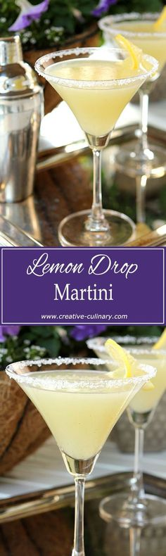 I've always loved a Lemon Drop Martini but they all pale in comparison to this version from a local Denver restaurant. Make with both lemon and lime juices and a hint of vanilla; they are the BEST...bar none! via @creativculinary