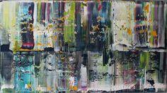 acrylic painting 100 cm x 70 cm o331