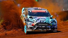 Ken Block in Global Rallycross 2013 – Round 1: Foz do Iguazú     ☆ Pinned by www.Rallycross360...