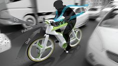 """Vía isopixel.net El """"Air-Purifier Bike""""aborda el problema de la contaminación del aire en la ciudad mediante la filtración de aire y la generación de oxígeno. El diseño integra un filtro de aire qu…"""