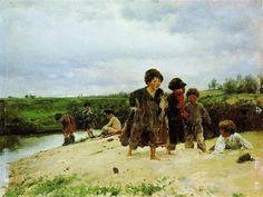 From the rain - Vladimir Makovsky