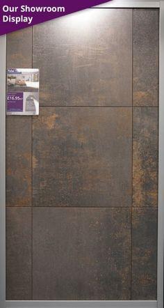 Oxido Nero Porcelain Floor Tile 650x650mm Floor Tiles For Home, Floor Tile Grout, Modern Floor Tiles, Bathroom Floor Tiles, Wall And Floor Tiles, House Floor, Grey Flooring, Wooden Flooring, Wall Tile Adhesive