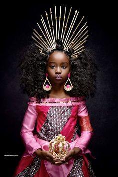 Young Black, Black Kids, Black Babies, Black Disney Princess, Moda Afro, Black Royalty, Princess Photo, Tangled Princess, Princess Merida