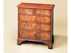 Holland & Co - Small Bachelors Chest with 5 Drawers 4105. 30W x 16D x 32H