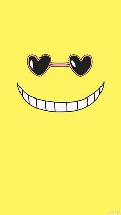Assassination Classroom - Korosensei T-shirt by mirrortab - Black - LARGE - Mens Fitted Tee Koro Sensei Face, Koro Sensei Quest, Wallpaper Animes, Animes Wallpapers, Cute Wallpapers, All Anime, Manga Anime, Anime Art, Anime Lock Screen