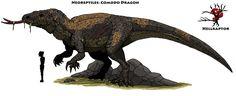 Neoreptiles: Komodo Dragon by Hellraptor