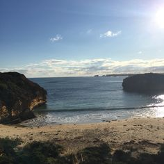 Random beach on the way out of port Campbell