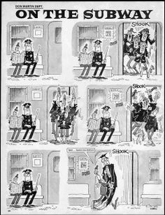 Don Martin, één van mijn favoriete striptekenaars met veel humor en een aparte stijl, verscheen voornamelijk in MAD magazine
