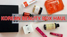 Korean Beauty Box Haul : Wishbox No.42!  #beautybox #wishbox #box