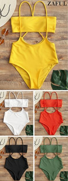Up to 80% OFF! Bandeau Top And High Waisted Slip Bikini Bottoms. #Zaful #Swimwear #Bikinis zaful,zaful outfits,zaful dresses,spring outfits,summer dresses,easter,super bowl,st patrick's day,cute,casual,fashion,style,bathing suit,swimsuits,one pieces,swimwear,bikini set,bikini,one piece swimwear,beach outfit,swimwear cover ups,high waisted swimsuit,tankini,high cut one piece swimsuit,high waisted swimsuit,swimwear modest,swimsuit modest,cover ups @zaful Extra 10% OFF Code:ZF2017