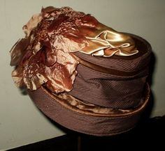 Edwardian hats are so chic, but they still manage to be the most decorated things on this planet!