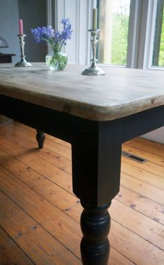 Made to order vintage retro farmhouse kitchen dining table coffee table £295.00