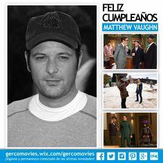 #KickAss #Kingsman #XMenFirstClass son algunas de las películas dirigidas por el cumpleañero #MatthewVaughn
