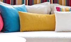 Cómo limpiar cojines y almohadas