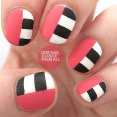 Cool Summer Pink. #nailart #naildesign #manicure