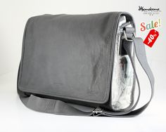 MANHATTAN BAG BLUE-GRAY - NOTEBOOK BAG 15'