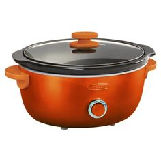 Bella Dots 6 Quart Slow Cooker - Orange. Suggested Retail Price: $39.99 #BellaDots #BellaLife