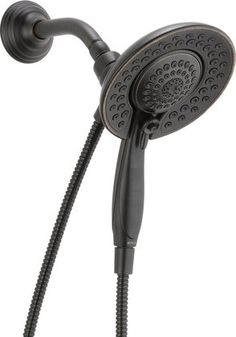 Merveilleux Shop For The Delta Venetian Bronze Shower Head And Hand Shower With 5 Spray  Settings   Includes Shower Hose And Shower Arm Mount And Save.