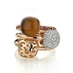 Gianfranco Bigli Mini Sweety rings
