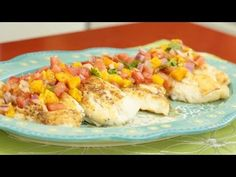 [ ASIAN & HEALTHY FOOD RECIPES ] How to Make Halibut with a Light Mango Salsa #recipe #AsianFood #video #videorecipe #videorecipes