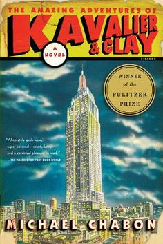 The Amazing Adventures of Kavalier & Clay by Michael Chabon. This book continues to change my life every time I re-read it. It's made me a slobbering, groveling Michael Chabon fan.