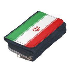 Iran flag wallet