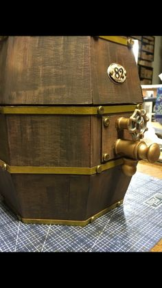 Beer Keg created by crafter  Trish Ormsby.