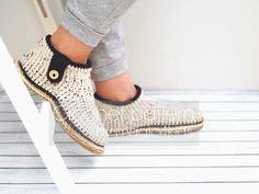 Crochet boots pattern crochet slippers all women by magic4kids