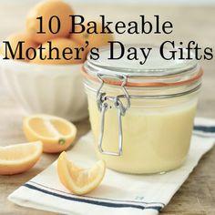 10 Bakeable Mothers Day Gifts #mycurvesandme #mothersday