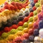 Free Pattern: Blackberry Salad Striped Baby Blanket