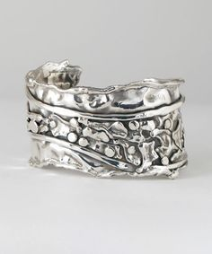 Sterling Silver Cuff CS41 [cs41] : Marksz Co. | Sterling · West Palm Beach , Handcrafted Artisan Sterling Silver Jewelry