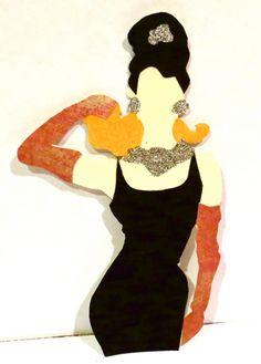 Celebrity silhouettes; Audrey Hepburn