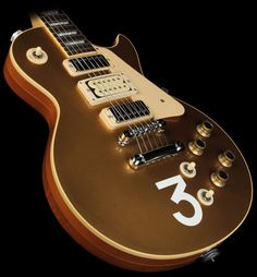 2010 Gibson Custom Shop '76 Les Paul Pete Townsend # 3 Electric Guitar Goldtop