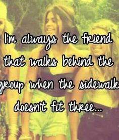 it's depressing. all my life I felt like i was the backup friend (except  with my BFF the last 7 yrs, thanks god for her.) >> 18 Whisper App  Confessions That ...