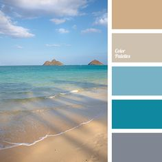 Fantastic Images beach Color Palette Ideas If you're a novice or maybe a well used give, understanding color is probably the most contentious Colour Pallette, Color Palate, Colour Schemes, Color Combos, Beach Color Schemes, Beach Color Palettes, Ocean Color Palette, House Color Palettes, Green Palette