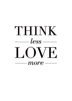 Love more, poster