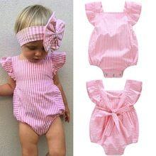 Crianças infantis Do Bebê Roupas de Menina Sunsuit Romper Macacão Outfits One-piece Romper Novo(China (Mainland))