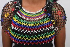 Collier de perles zoulou surdimensionnés par BiotoDesigns sur Etsy