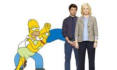 Ross and Rachel v Homer and Marge: who's the best TV couple?