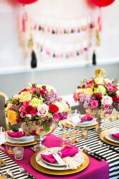 Kate Spade Inspired Wedding party