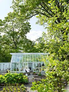 Växthus i Nacka