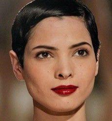 Hanaa Ben Abdesslem is a Tunisian runway model, based in Paris. Short Hair Model, Short Hair Cuts, Short Hair Styles, Pixie Cuts, Tunisian People, Pretty People, Beautiful People, Cut Her Hair, New Hair