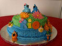 Rio cake designs