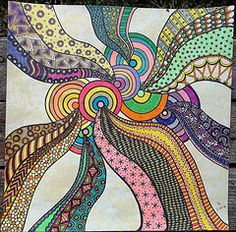 Zentangle #08 2-22-12 (terry_lynn_12) Tags: art zentangle zentangleart zendoodle zentangleinspiredart