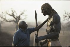 Giant of African art Ousmane Sow dies at 81 Ousmane Sow, Performance Artistique, George Custer, Leni Riefenstahl, Art Du Monde, Grand Art, Tourism Development, Art Africain, Whitney Museum